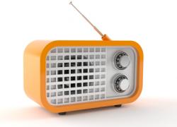 Publicité de station de radio